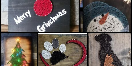 String Art Lisa Carbon County Friends of Animals Fundraiser tickets