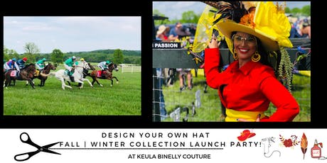 Design Your Own Hat & Our Fall | Winter collection launch party! tickets