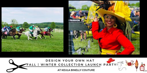 Design Your Own Hat & Our Fall | Winter collection launch party!