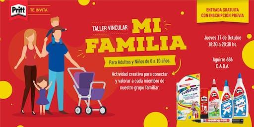 """Taller Vincular Pritt """"MI FAMILIA"""""""