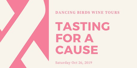 Tasting for A Cause - Honoring Breast Cancer Awareness tickets