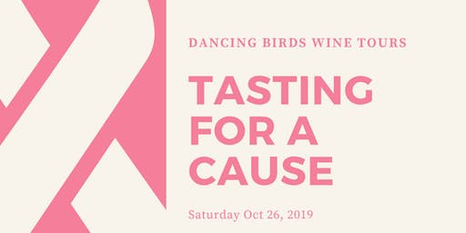 Tasting for A Cause - Honoring Breast Cancer Awareness
