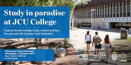 Meet James Cook University! tickets