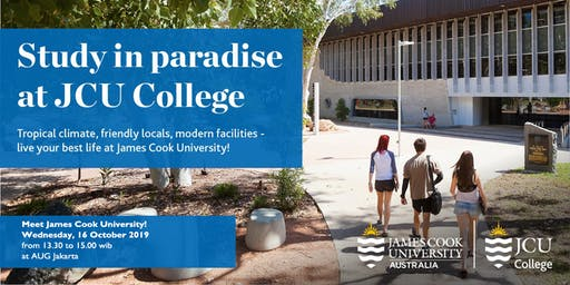 Meet James Cook University!