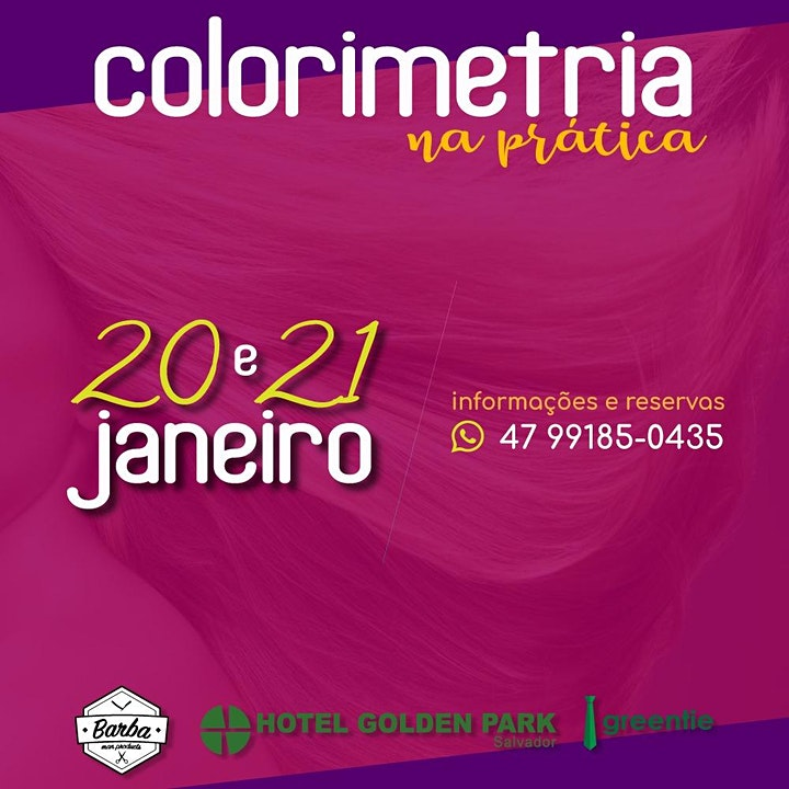 Imagem do evento COLORIMETRIA E MECHAS NA PRÁTICA