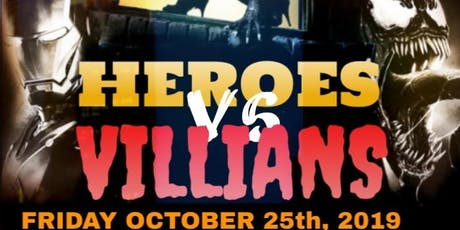 Heroes vs Villains Costume Party tickets