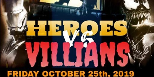 Heroes vs Villains Costume Party