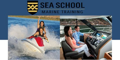 BOAT AND JETSKI LICENCE COURSE tickets