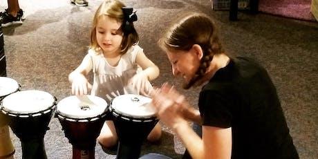 Sensory-Friendly Bucket Drumming tickets