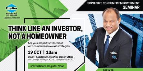 Think Like An Investor, Not A Home Owner. Best Investment Strategies 2020! tickets