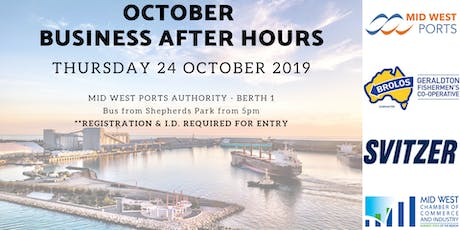 October Business After Hours tickets