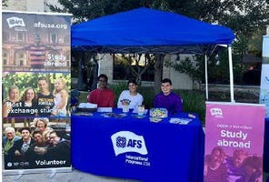 AFS- Austin Booth at Round Rock Diwali Festival