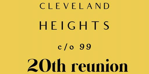 Cleveland Heights Class Of 1999, 20 Year Reunion