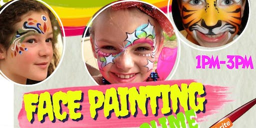 Kids Face Painting & Slime Party