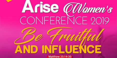Arise women Conference 2019 By   Gracious Women tickets