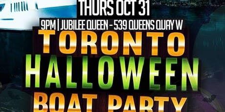 Toronto Halloween Boat Party | Thurs October 31st tickets
