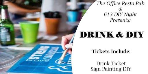 DRINK & DIY