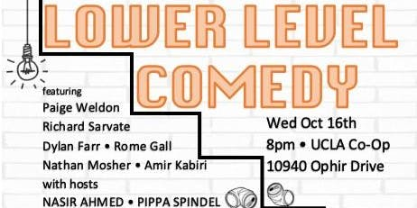 Lower Level Comedy: Free Comedy Show
