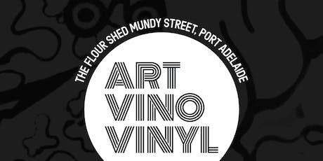 Art, Vino & Vinyl tickets