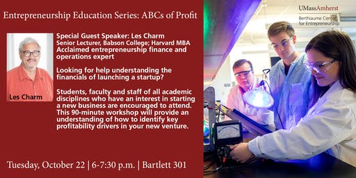 Entrepreneurship Education Series: ABCs of Profit