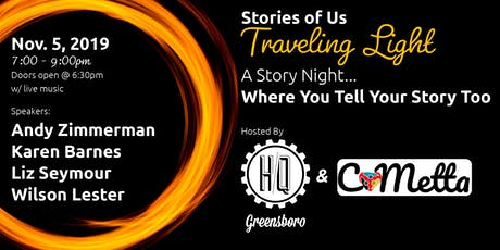 Stories Of Us: Traveling Light tickets