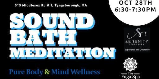 Yoga Spa October Sound Bath