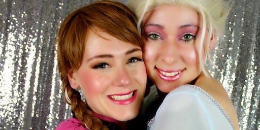Princess & Me Photo Shoot: Snow Sisters