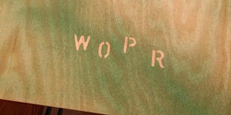 WOPR Summit 0x01 tickets