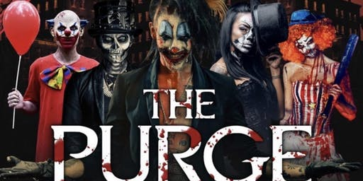 The Purge Halloween party