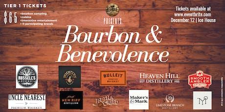 Bourbon & Benevolence 2019 : A Benefit Tasting tickets