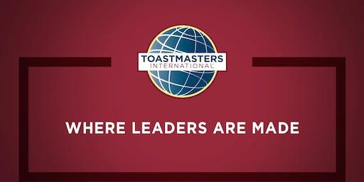 WilmU Toastmasters Meeting