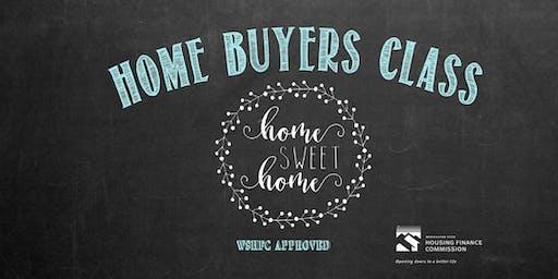 WSHFC Home Buyer's Class