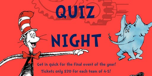 WIE Quiz Night - Dr. Seuss