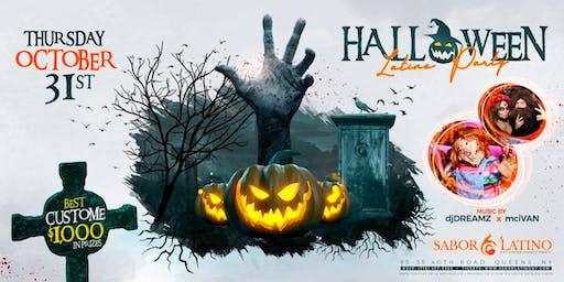 Halloween Latinx Party
