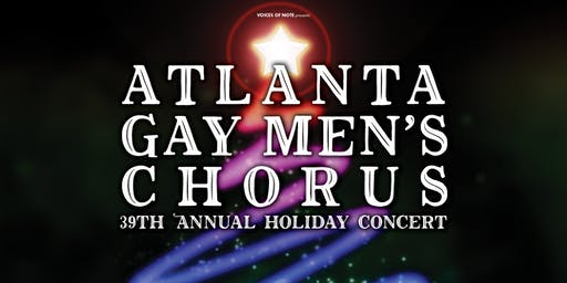 AGMC 39th Annual Holiday Concert - Saturday, Dec 7, 6 PM