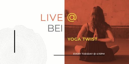 Tuesday's YOGA w/a Twist