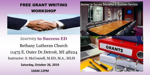 Free GrantWriting Workshop