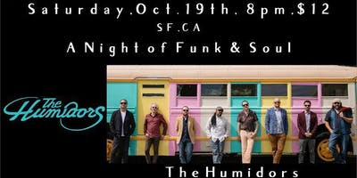 THE HUMIDORS / GENE WASHINGTON & THE SWEET SOUNDS with  The Fell Swoop