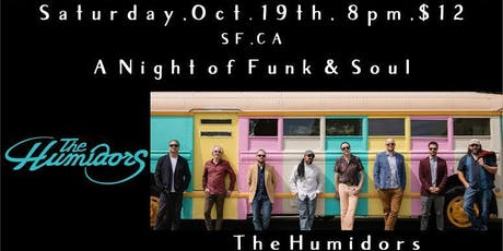 THE HUMIDORS / GENE WASHINGTON & THE SWEET SOUNDS with  The Fell Swoop tickets