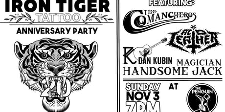 Iron Tiger Tattoo Anniversary Party tickets