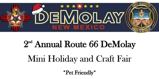 2nd Annual Route 66 DeMolay Mini Holiday and Craft Fair
