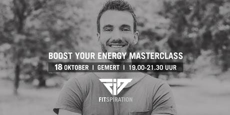 Boost Your Energy Masterclass tickets