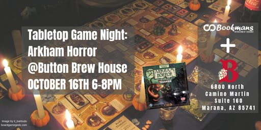 Tabletop Game Night: Arkham Horror @Button Brew House