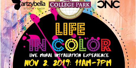 Life in Color - Live Mural Installation Experience tickets