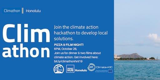 Climathon Honolulu: Pizza & Film Night