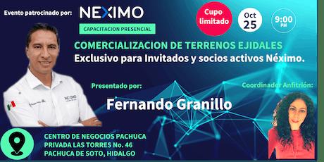 NEXIMO PRESENTA: Comercialización de terrenos ejidales en Pachuca entradas