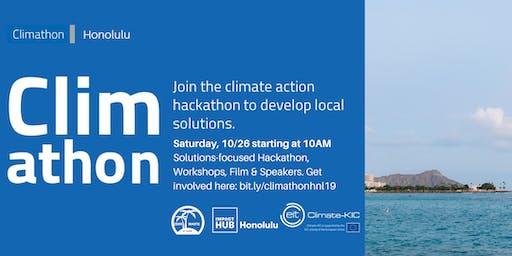 Climathon Honolulu: Climate Action Hackathon