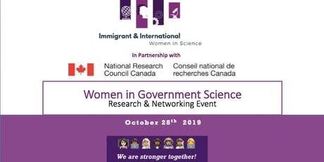 Women in Government Science - IWS_Ottawa tickets
