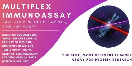 Multiplex Immunoassay Seminar and LAB Demo Session