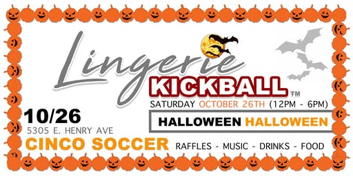 Lingerie Kickball - Halloween Edition